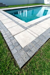 C.E.L. Paving Products slabs and cobbles in residential concrete paving