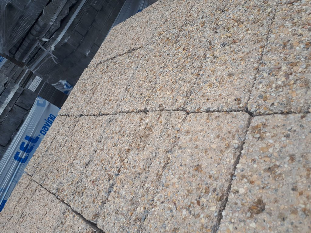 exposed aggregate bond paver