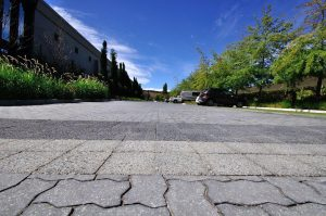 Shimmerstone Concrete Pavers used for Car Parks